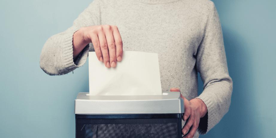 troubleshooting paper shredders