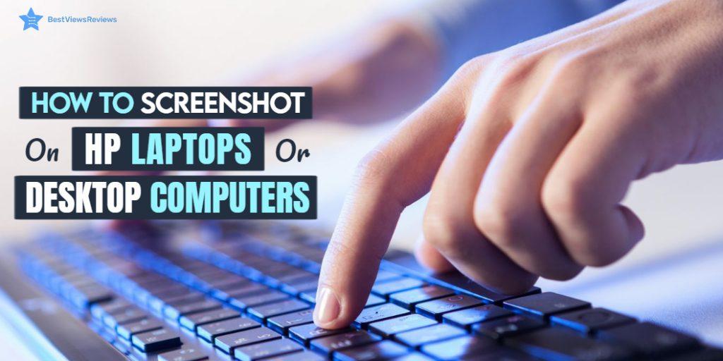 screenshot on HP laptop