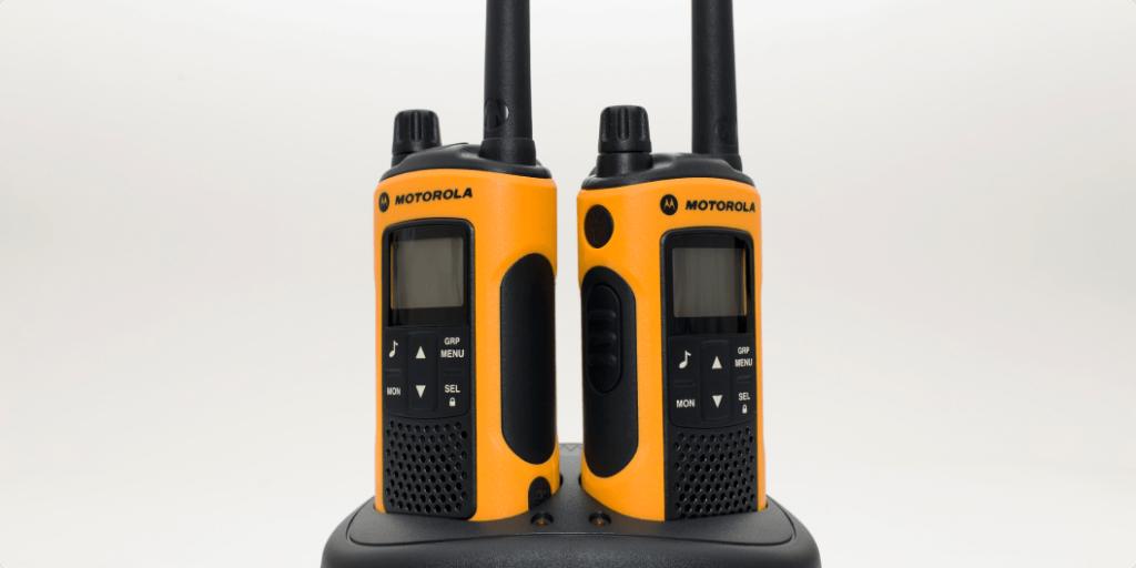 walkie-talkie frequencies